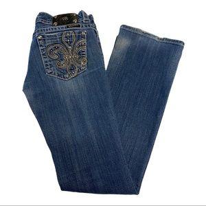 Miss Me JP514582 Embellished Bootcut Sz. 28 Jeans